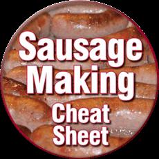 sausage making cheat sheet icon