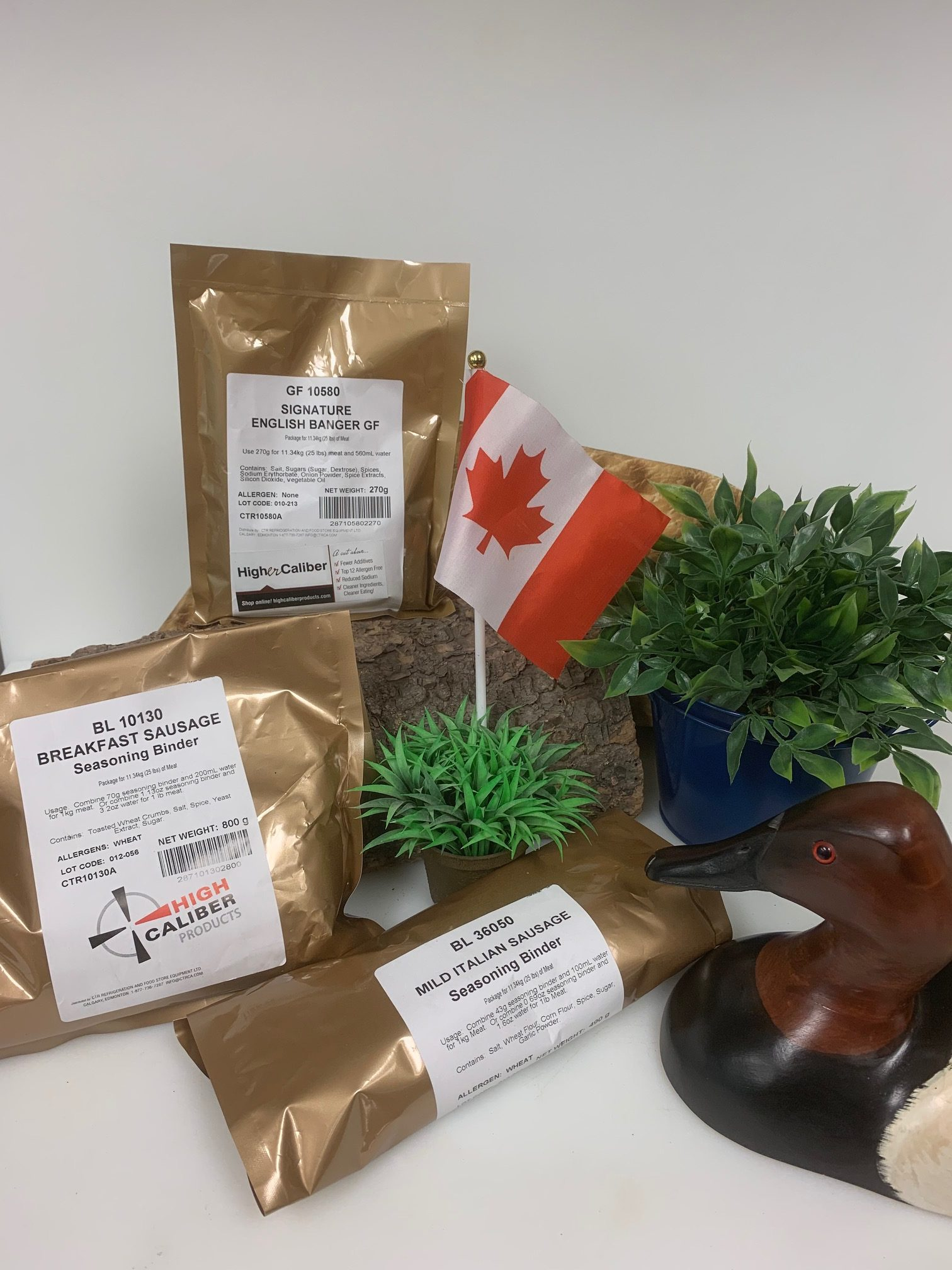 trust the tradition sausage blend sampler pack by high caliber in alberta
