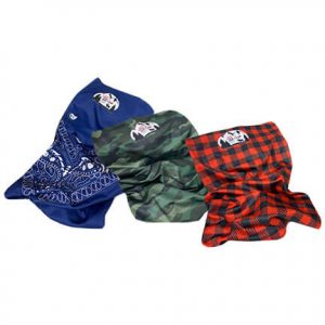 neck gaiter high caliber camo plaid paisley