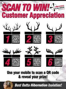 Customer Appreciation - April 2021 QR Codes