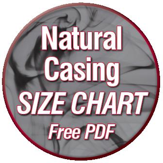 Casing Size Chart