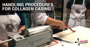 high caliber blog handling procedure collagen sausage casing