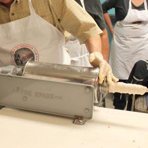 blog handling procedure natural sausage casing photo
