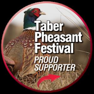 high caliber sponsors taber pheasant festival