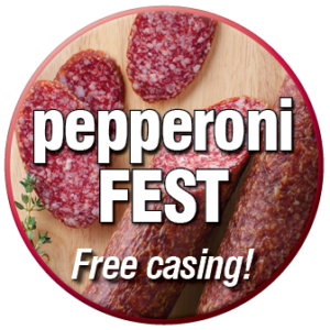 pepperoni fest sausage blend and casing offer